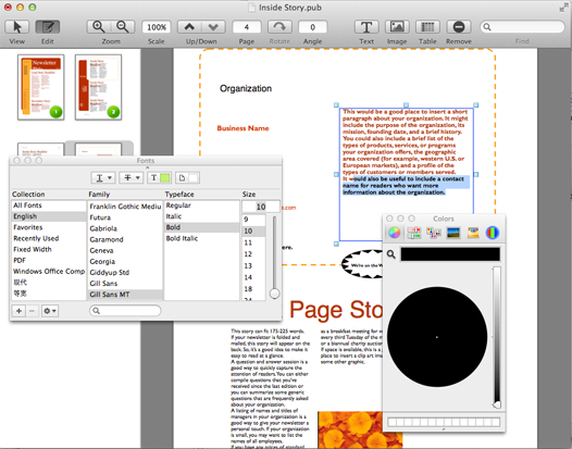 Canyua PUB Viewer Pro for Mac User Guide