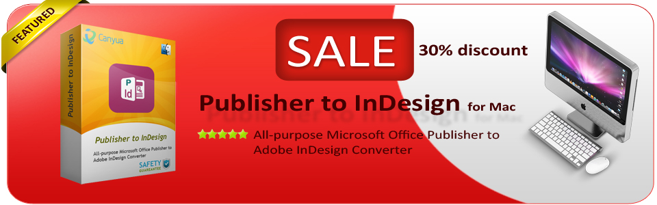 Publisher to InDesign